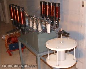 high voltage rock breaking machine