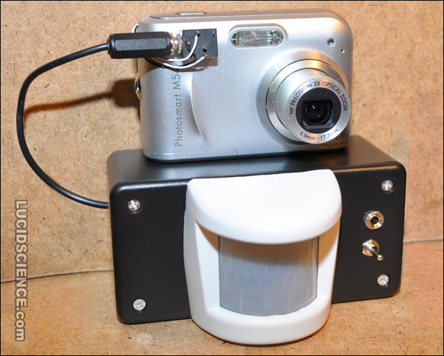 motion activated camera diy electronics project lucidsciencelucidscience electronics blog