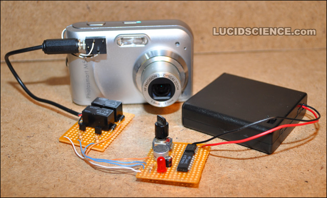 sound activated camera \u2013 diy electronics project lucidscience